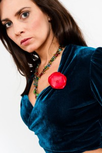 Tango Clothing, Dresses & Fashion | Satin Flower Pin | Picture Passion Red