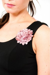Argentine Tango Clothing, Dresses & Fashion | So Chic Flower Pin | Picture Pink