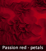 Passion red petals