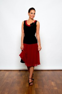 Argentine Tango Clothing, Dresses & Fashion | Boheme dress | Picture front 4