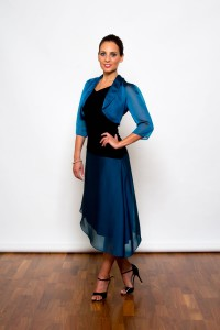 Argentine Tango Clothing, Dresses & Fashion made in the UK | Femme Fatale Skirt | Side picture