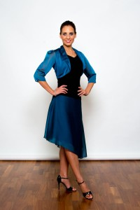 Tango Dresses, Skirts & Fashion made in the UK | Femme Fatale Skirt | Front picture