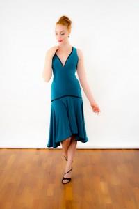malena dress blue