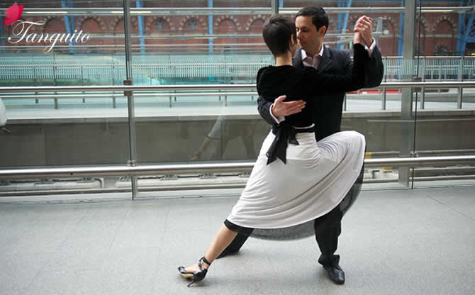 Argentine tango London | Jack French exclusive brand launch event with tango