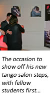 Harry Judd Argentine tango salon