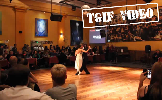 Argentine tango video tgif last month in salon canning for A puro tango salon canning