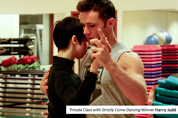 Argentine tango class Harry Judd Strictly Come Dancing